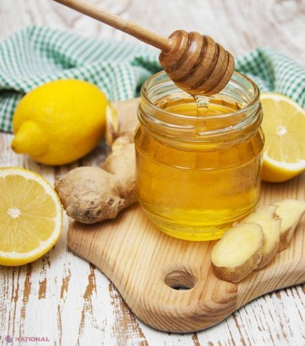 lămâie cu miere pentru vedere