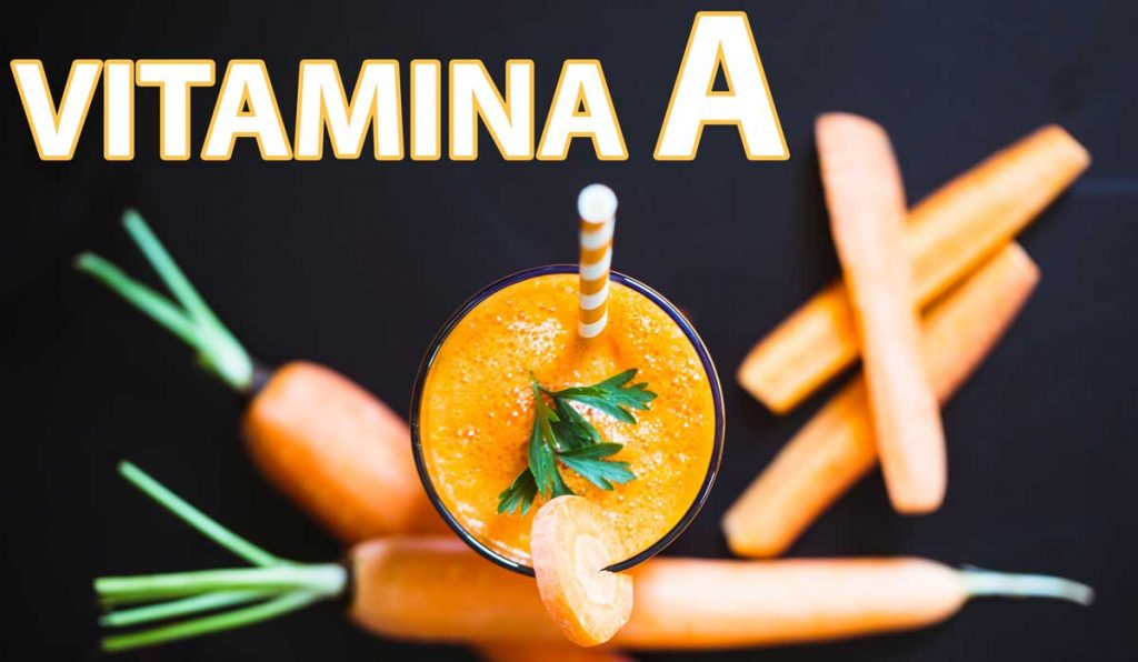 viziune vitamina a)