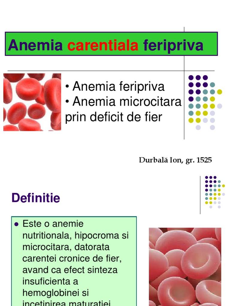 insuficiență vizuală cu anemie)