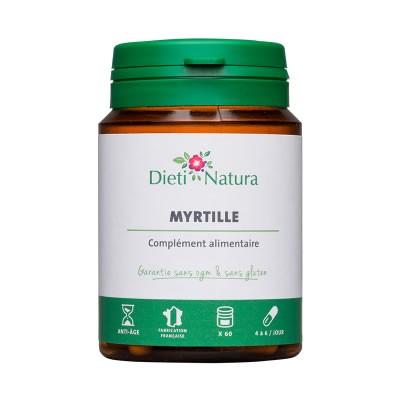Myrtille (Pudra Afine) capsule, imbunatateste vederea, sanatatea ochilor   Produse medicale