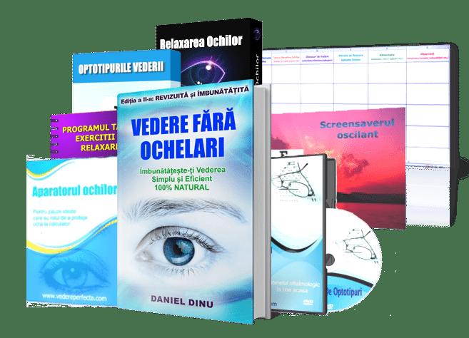 un set de exerciții pentru îmbunătățirea vederii