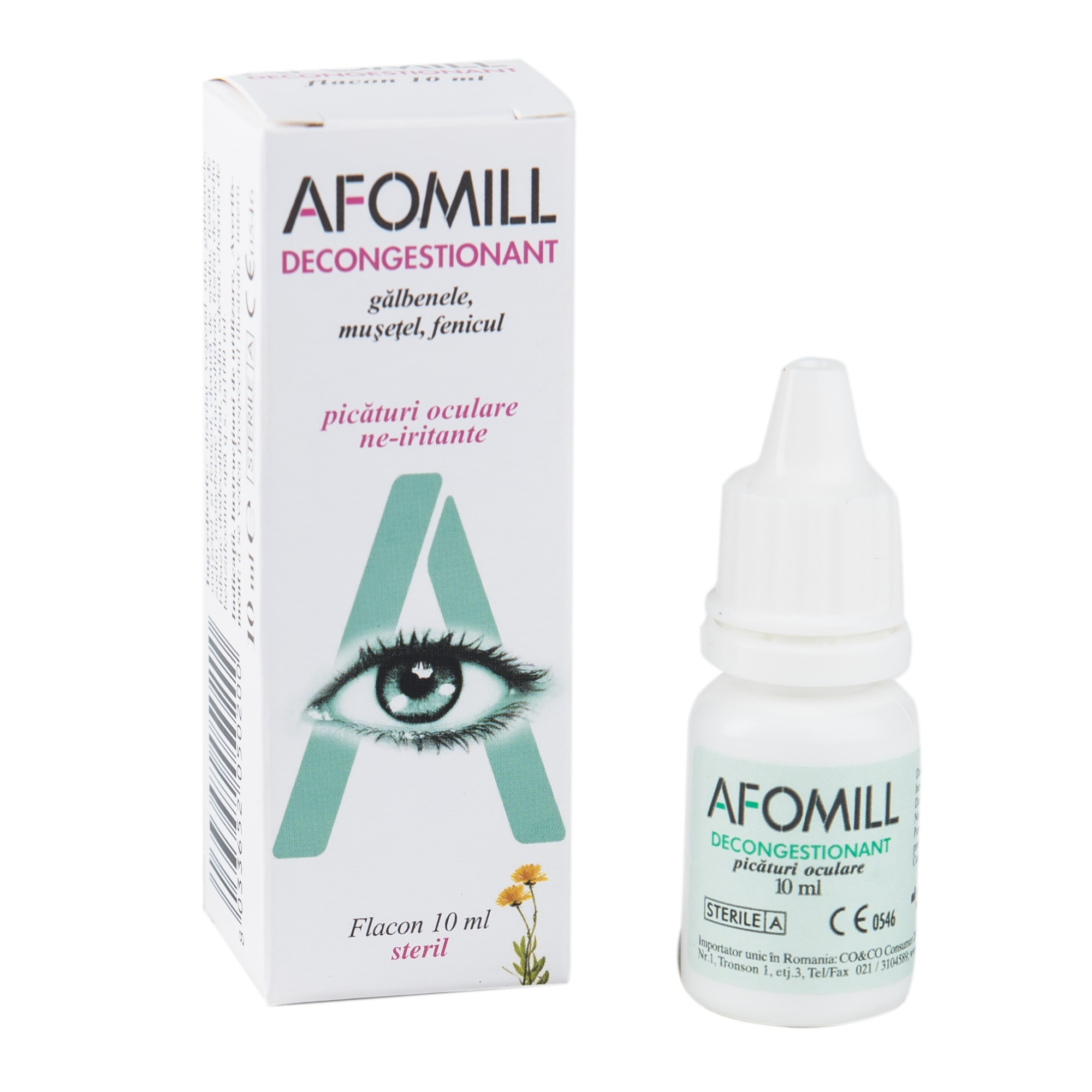 oftalmologie midges în ochi