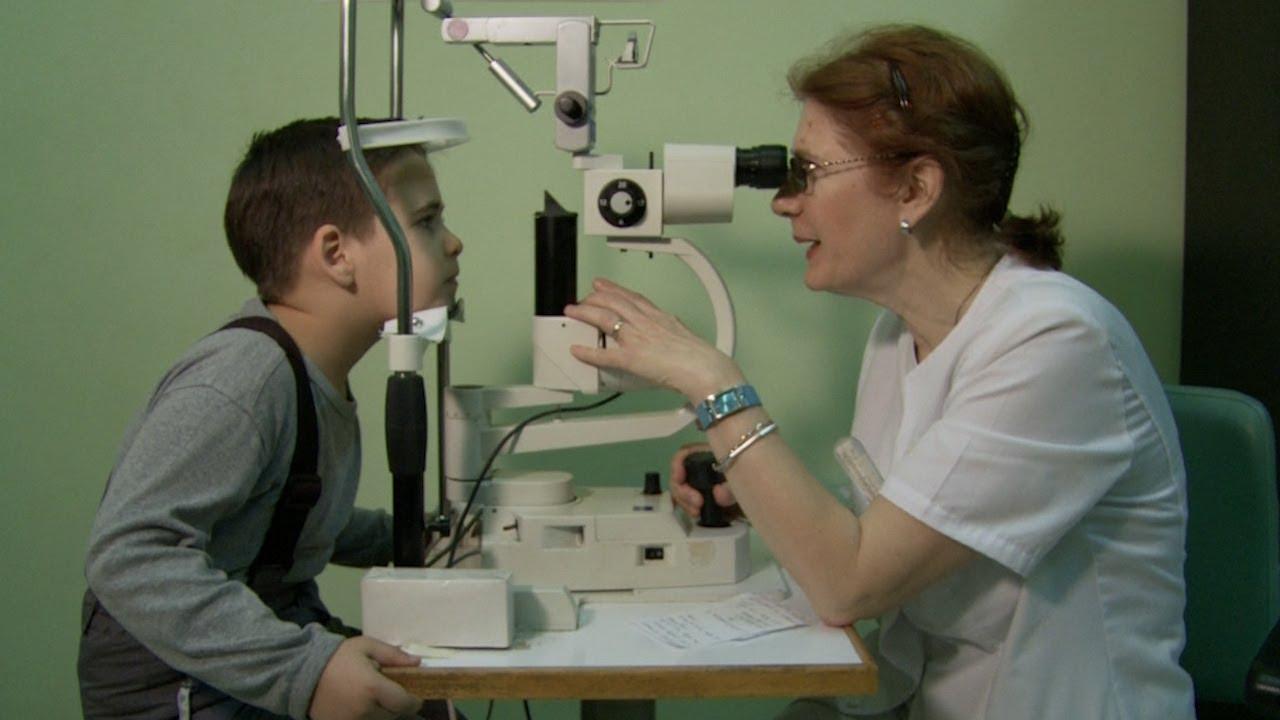 oftalmolog pentru copii)