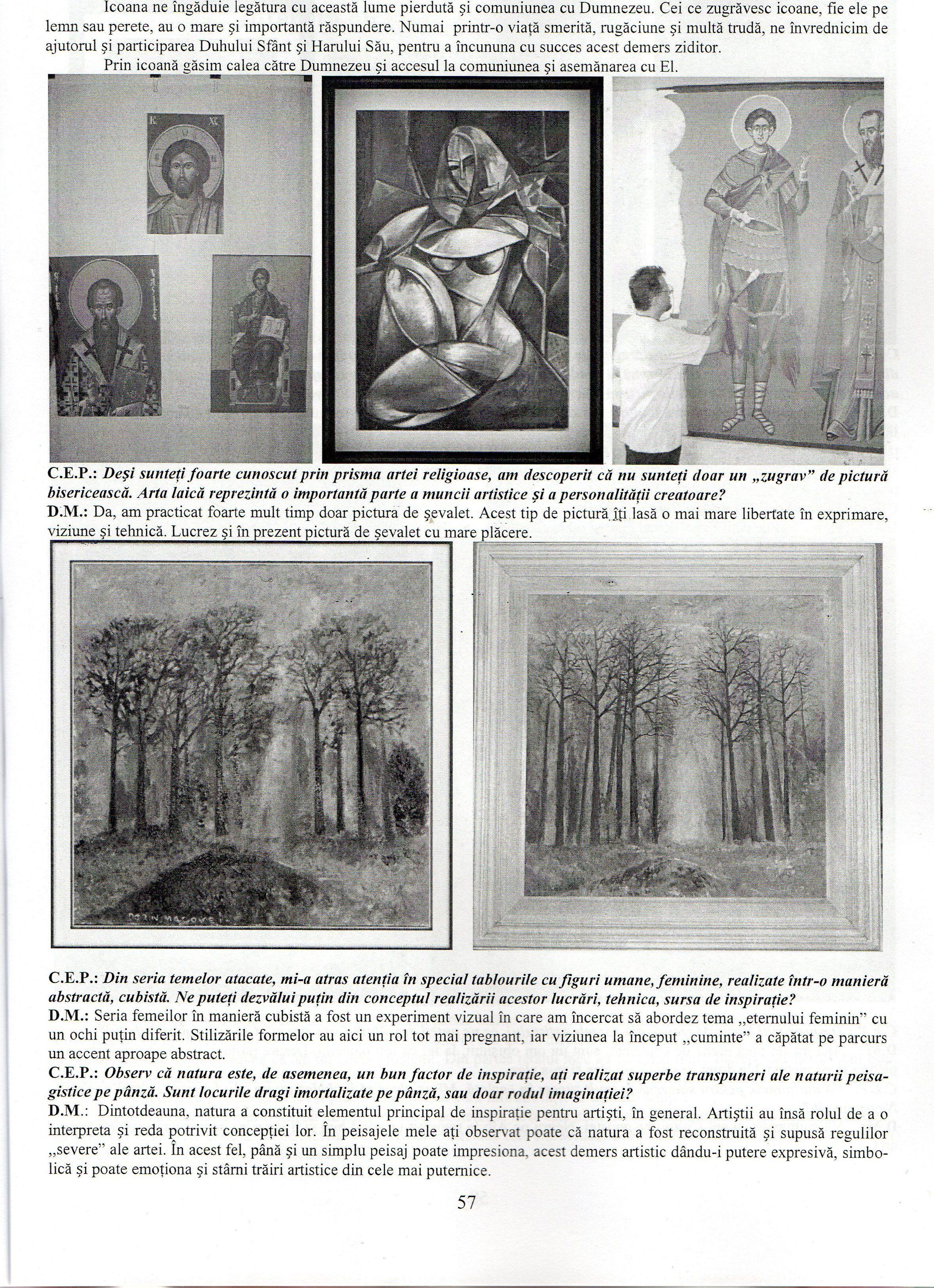 viața și viziunea de artă