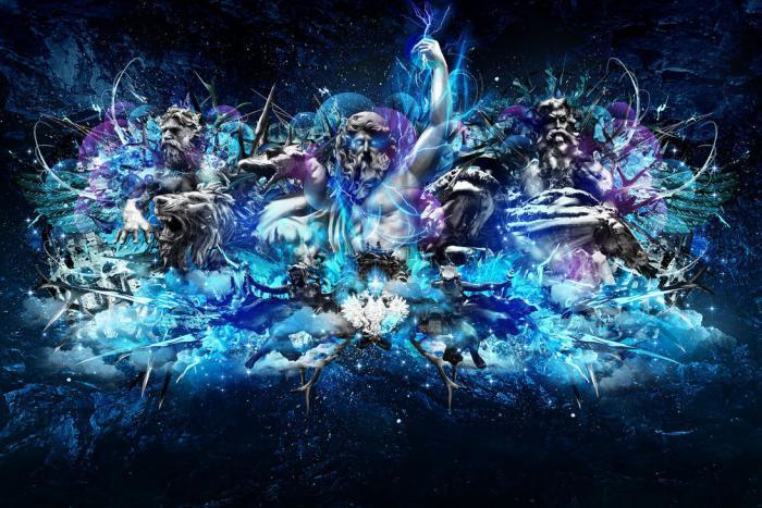 caracteristică viziunii mitologice despre lume)