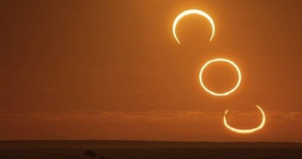 eclipsă de soare și viziune