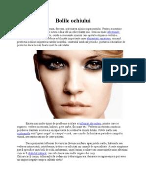probleme de vedere a bolilor oculare)