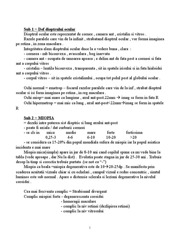 quinax și hipermetropie