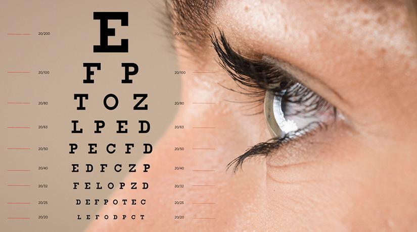 caracteristici cu deficiențe de vedere