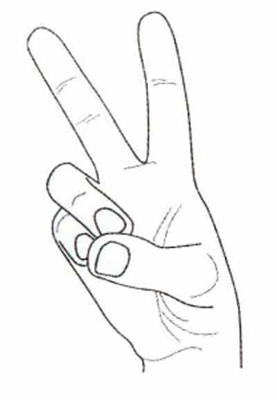 numărând degetele de la distanță acuitatea vizuală