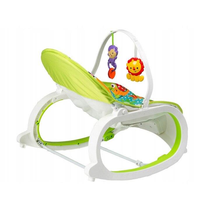 vedere slabă și scaun balansoar
