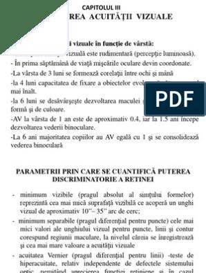 acuitate vizuală - English translation – Linguee