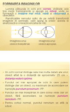 ochelari de instrucțiuni pentru formarea vederii)