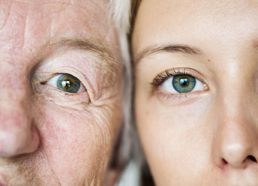 ochii raniti; scaderea vederii