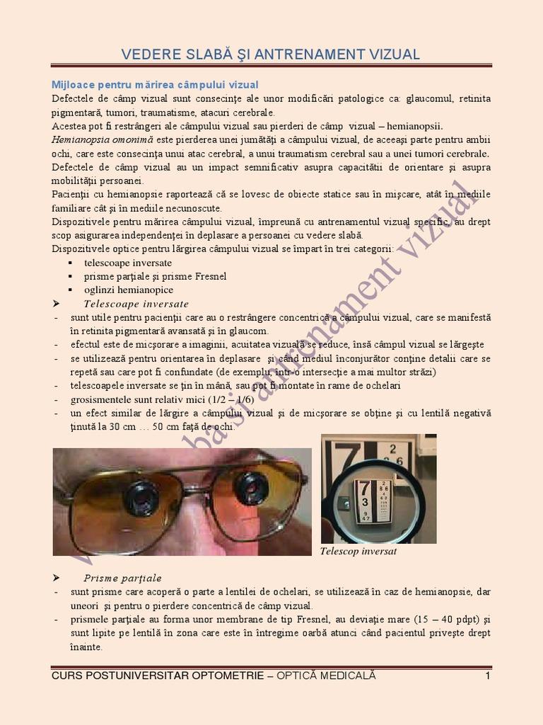 Presiune asupra ochilor din interior