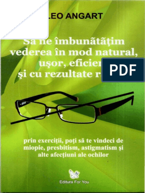 Lecție audio despre restaurarea vederii