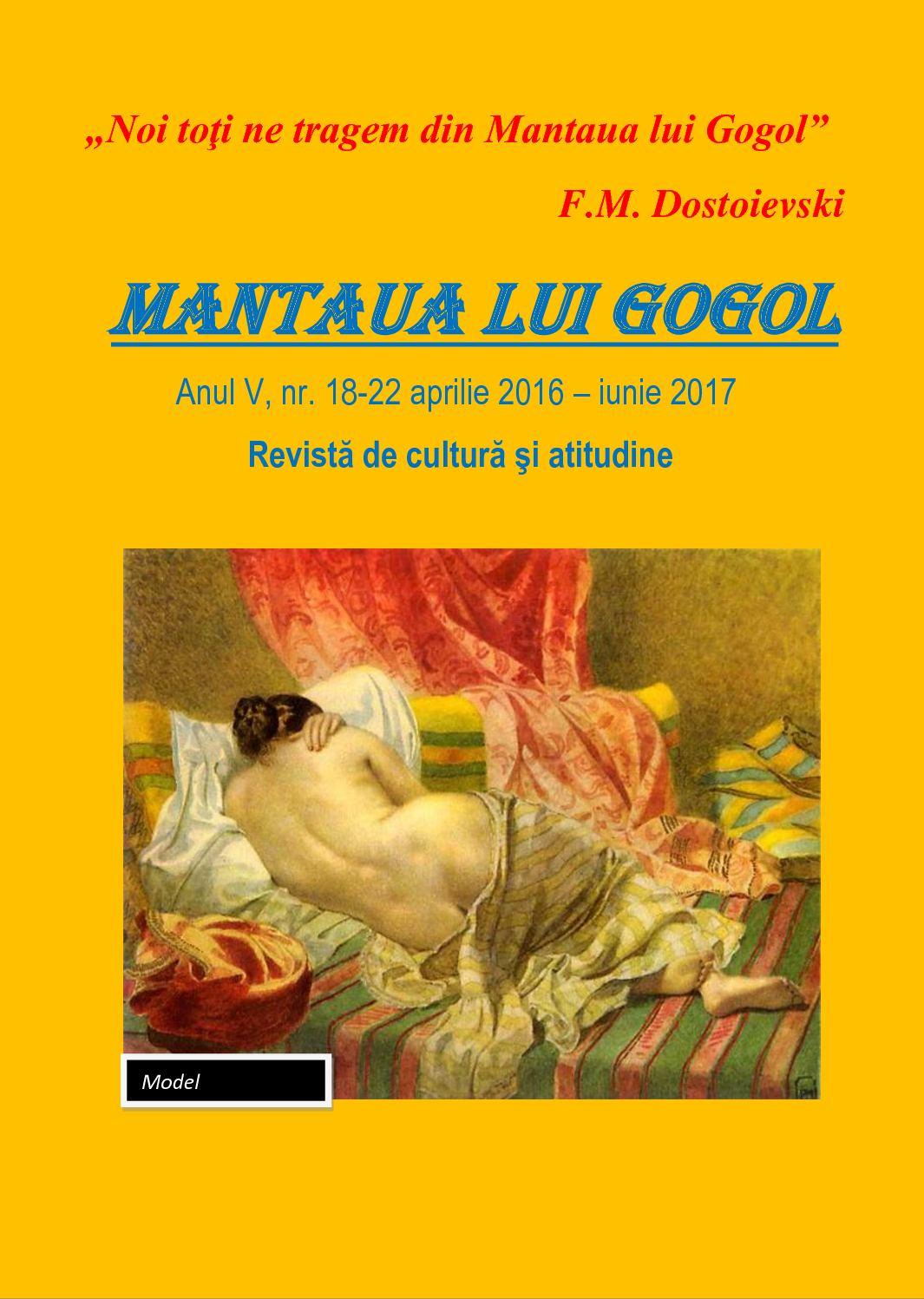 Gogol 18 nouă viziune în)