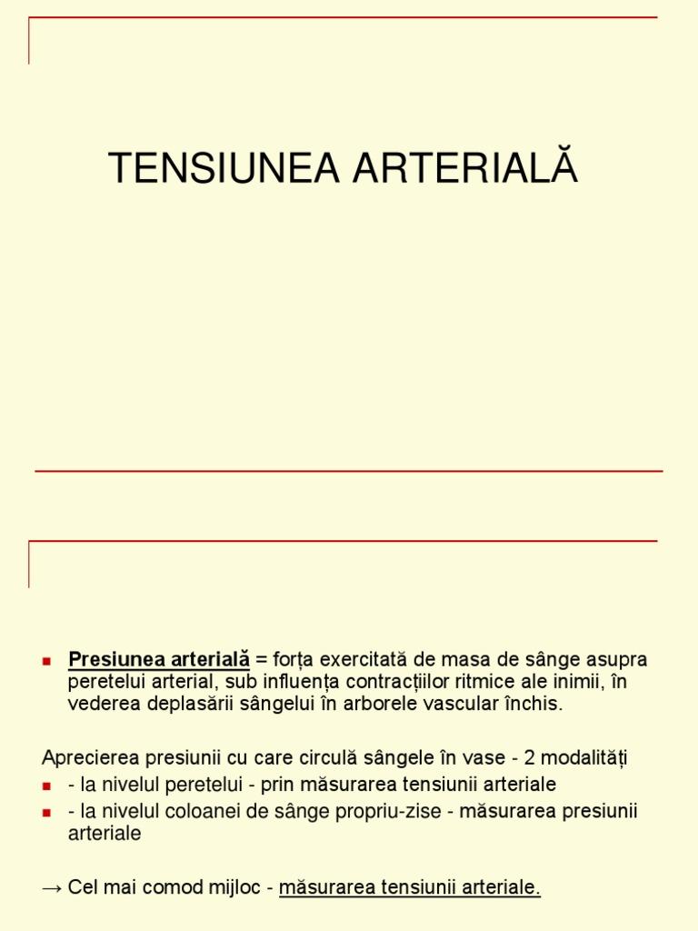 tensiunea arteriala si vederea)