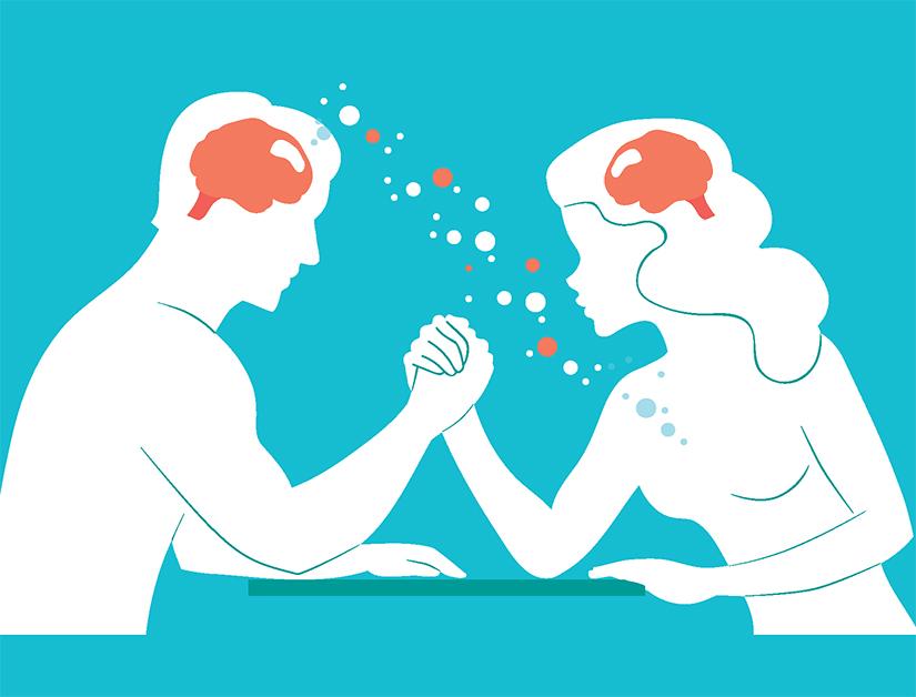 Diferențele dintre creierul femeilor și cel al bărbaților