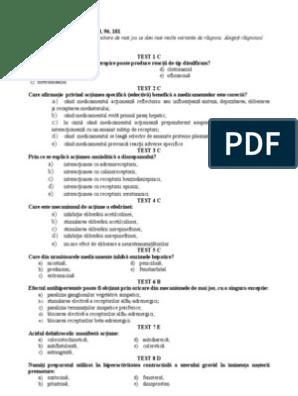 Oftalmologie Teste USMF