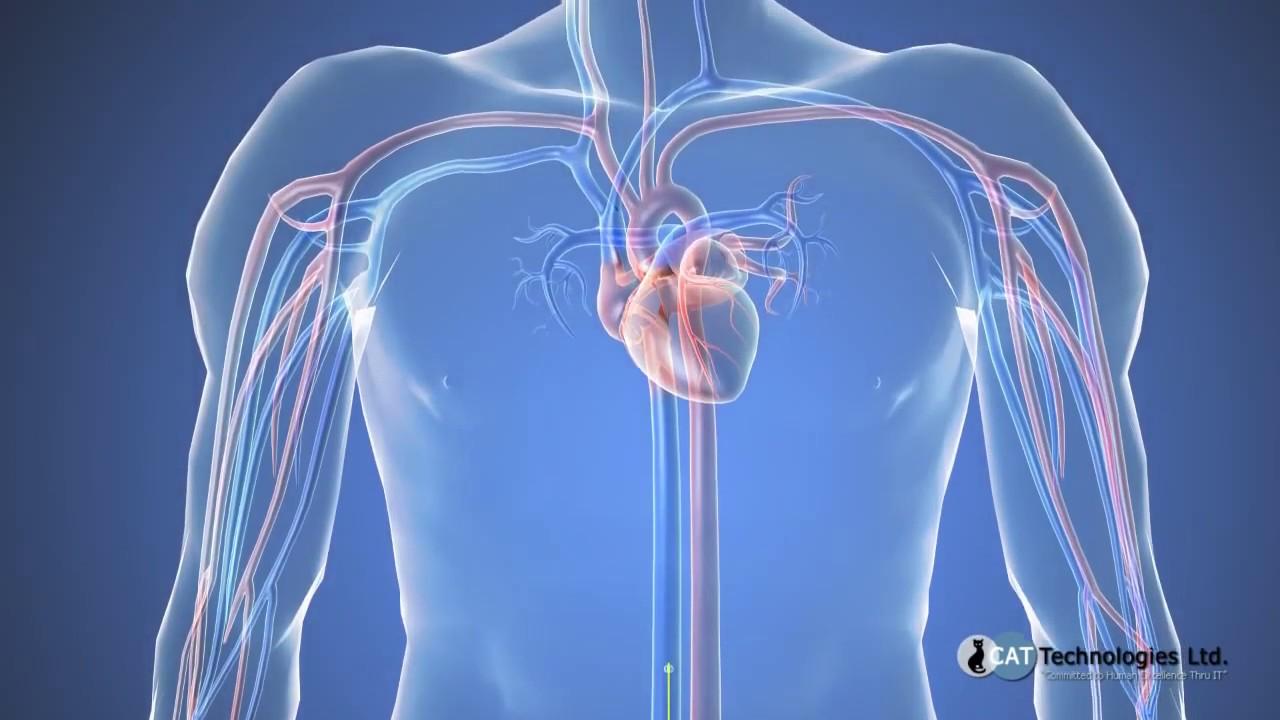 arterele vizuale îngustate)