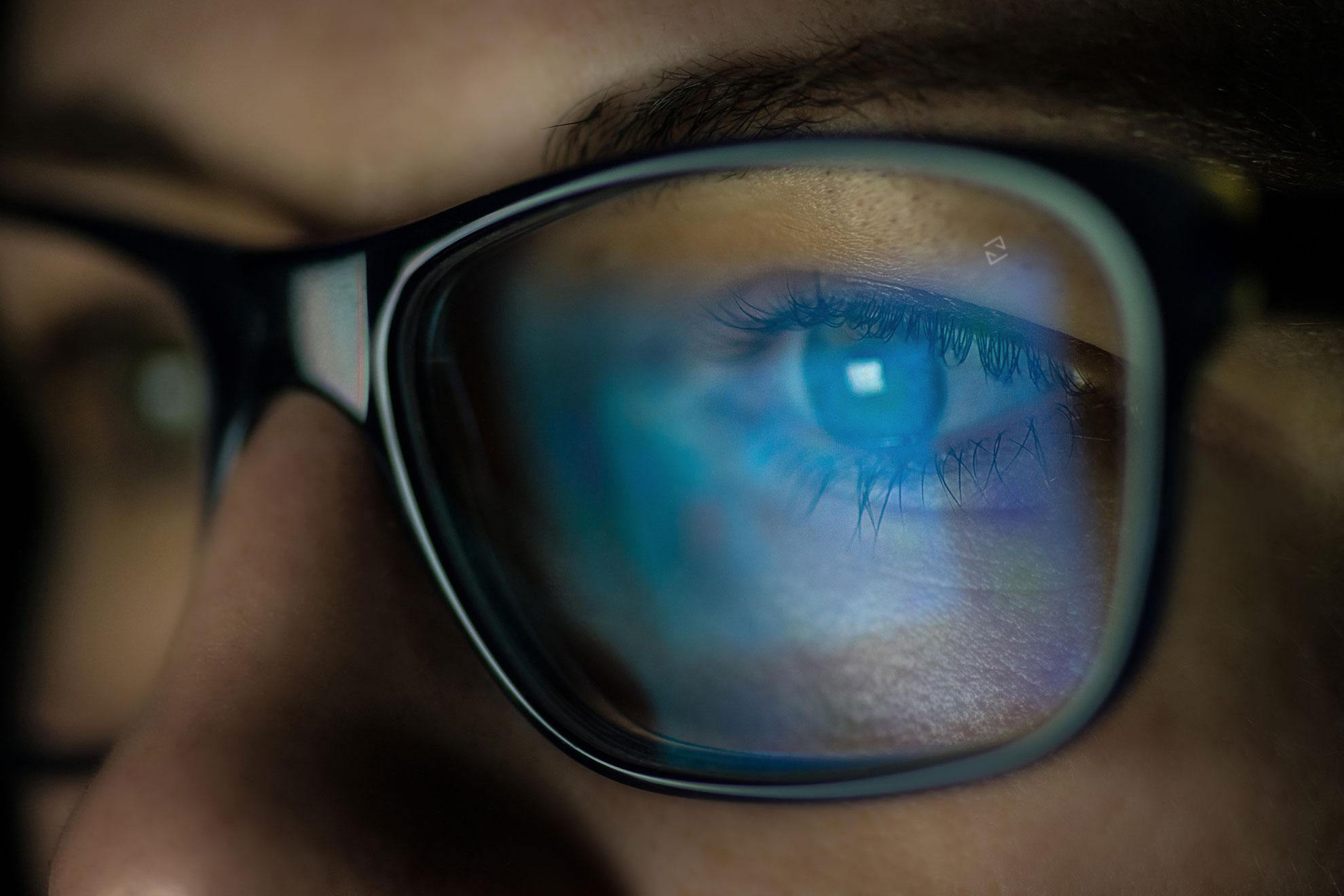 ochi apoși și vedere slabă)