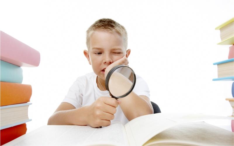 copil mic la oftalmolog)