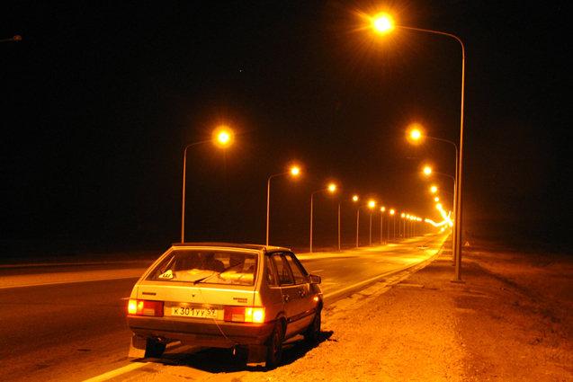 viziune slabă noaptea)