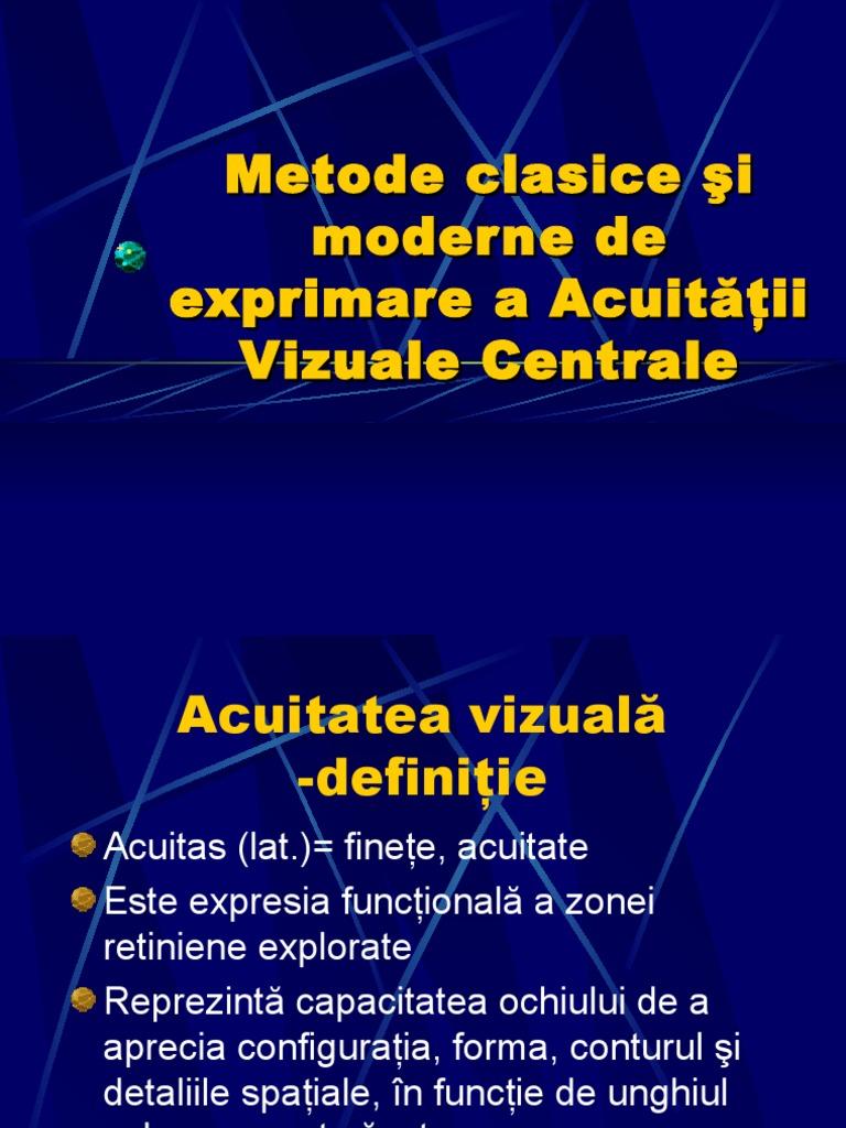 acuitatea vizuală 60 0 viziune izoterică