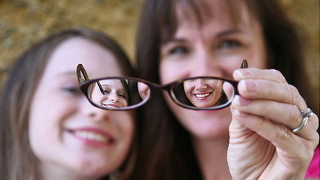 acuitatea vizuală în miopia mare