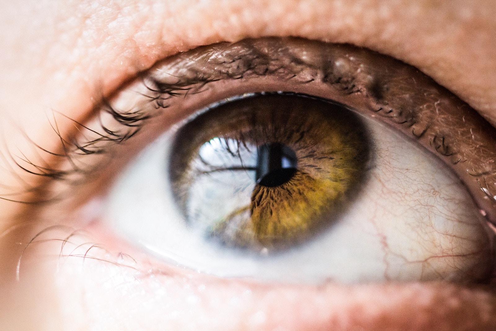 test ocular cu picături)