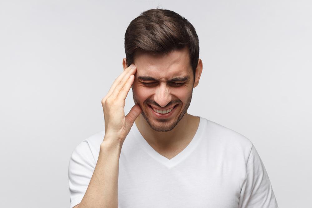 vederea a scăzut, durerea de cap)
