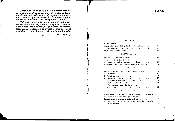 Defectologie si logopedie-grilă