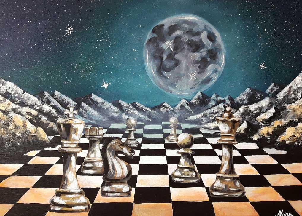 dezvoltarea viziunii șahului