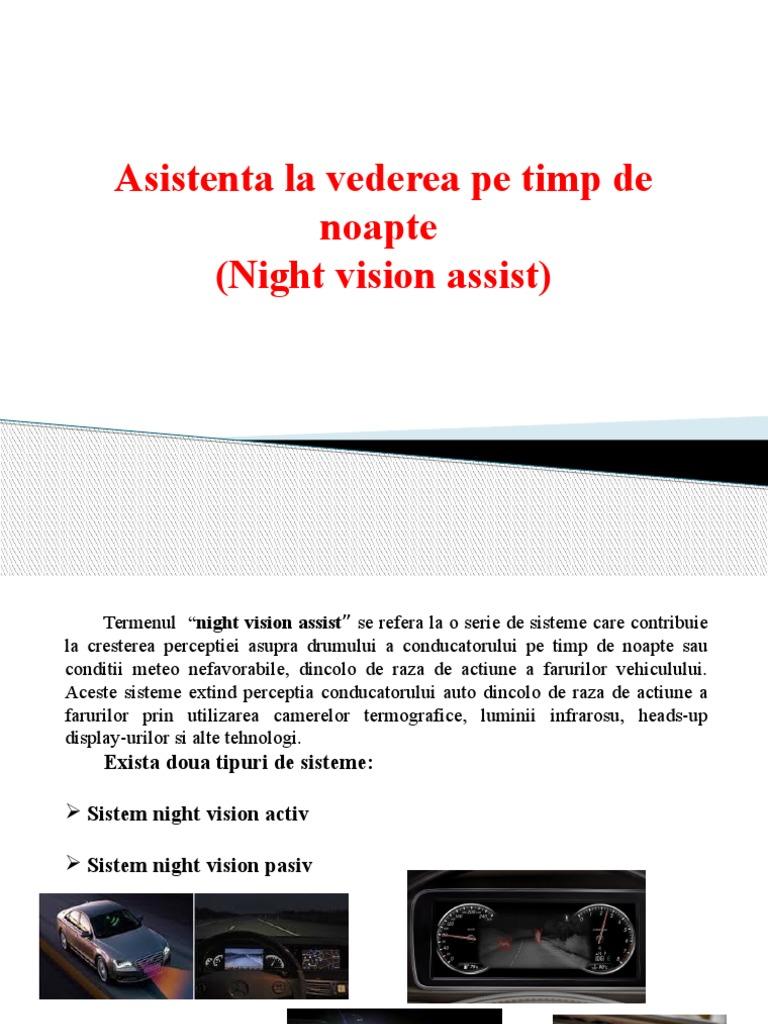 asistență pentru vederea slabă