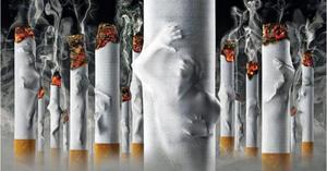 ce afectează viziunea unei țigări