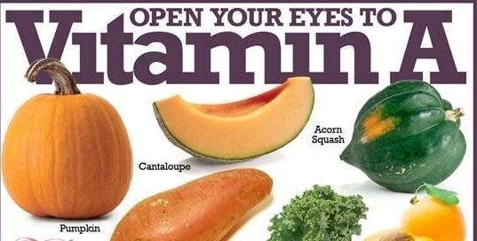 rolul vitaminei a în viziune)