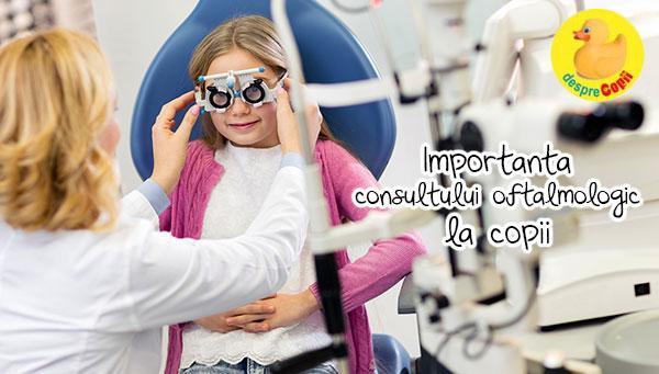 Serie de examene pentru oftalmologie vizuală excelentă