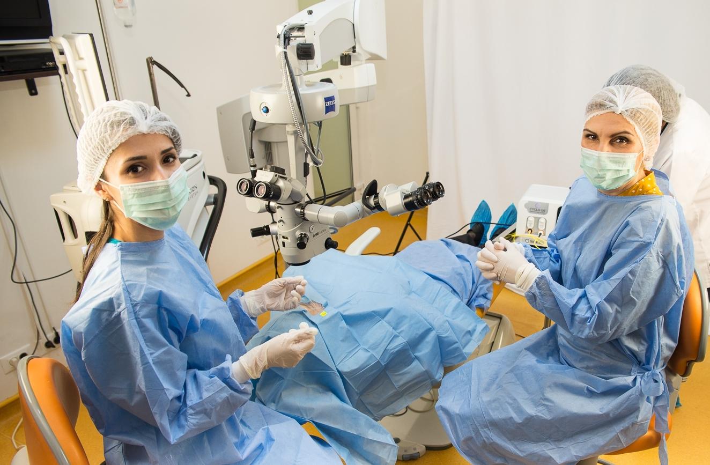 Clinica Novaoptic - Operatia de glaucom