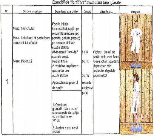 scutire pentru antrenament fizic pentru vedere