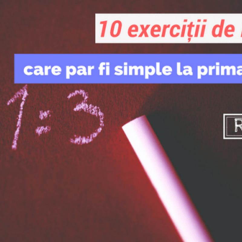 exerciții simple pentru vedere