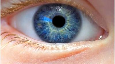 ochii omului vizionează viața