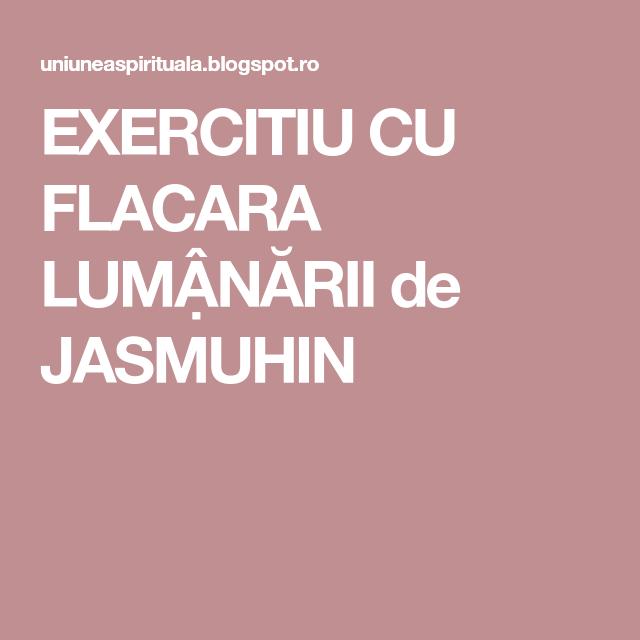 exercițiu la lumina lumânărilor)