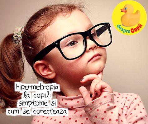 simptome miopie copii)