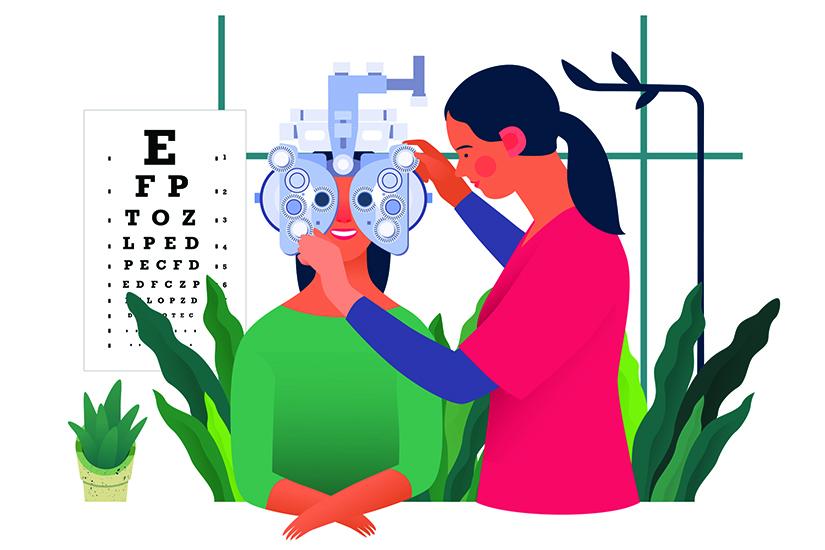 rolul acuității vizuale topografii au viziune