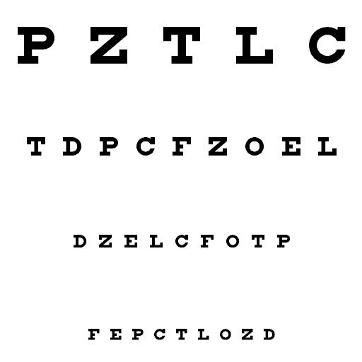 traducere test vizual