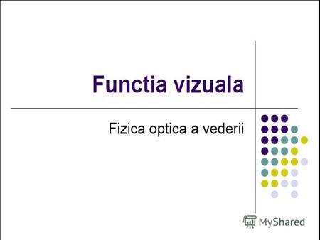 tromboză a vederii)