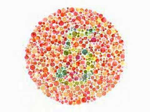 test de vedere daltonism online