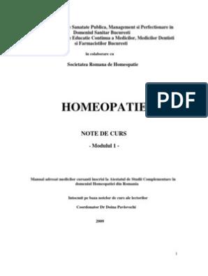 homeopați despre viziune