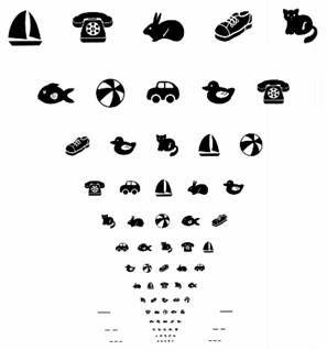 asigura acuitatea vizuala)